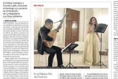 Reseña Diario Montañes 12 dic Recital Italia y Andares