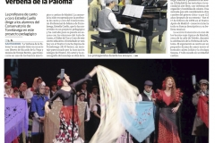 Reseña Diario Montañes Verbena de la Paloma