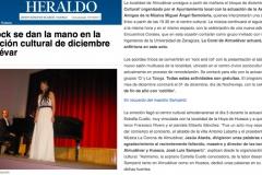 Reseña Heraldo Estrella Cuello soprano en Almudevar