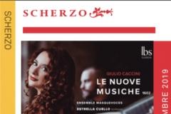 Reseña Revista Scherzo Le Nuove Musiche Ensemble Masquevoces