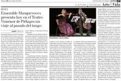 Resela Diario Alerta Tango En Canto