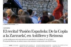 Reseña Alerta Concierto Sala Bretón y Teatro Principal Reinosa