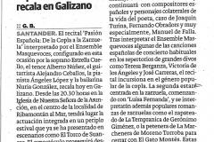Reseña Diario Montañés 11 de agosto