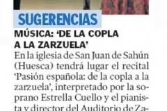 Reseña Heraldo Aragon 2 de agosto